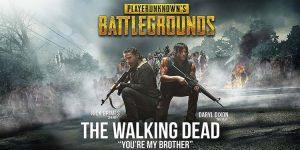 PUBG Mobile Umumkan Kolaborasi Dengan The Walking Dead