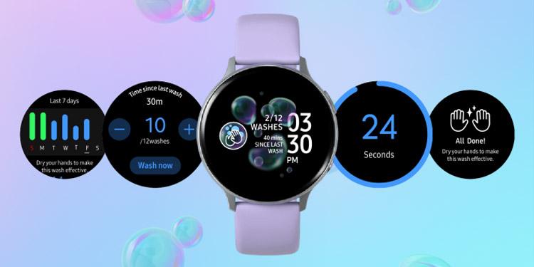 Samsung Merilis Aplikasi Smartwatch Untuk Mengingatkan Pengguna Agar Mencuci Tangan