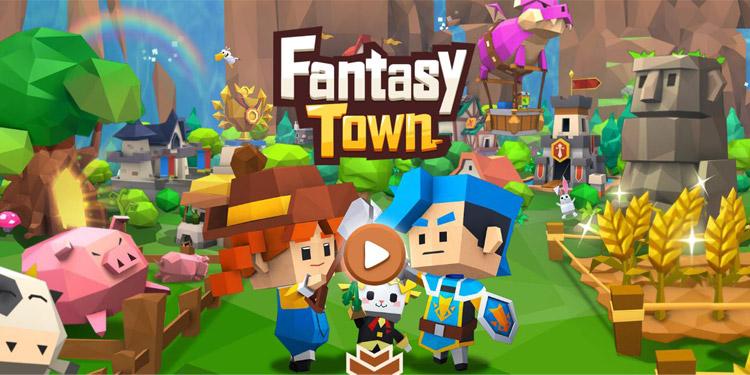 Garena Rilis Game Baru Bertema Simulasi : Fantasy Town