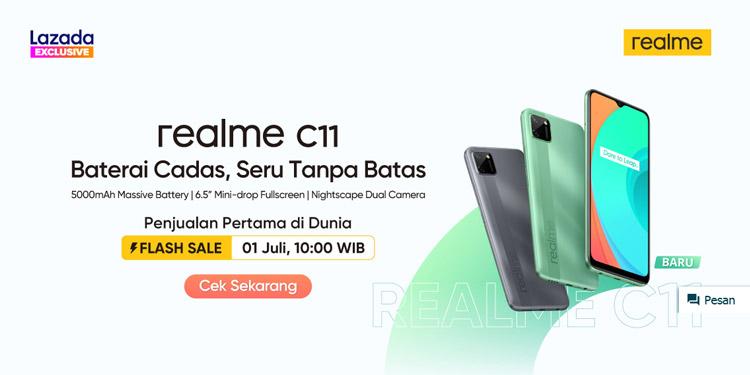 Ini Dia Spesifikasi Serta Jadwal Rilis Realme C11 di Indonesia