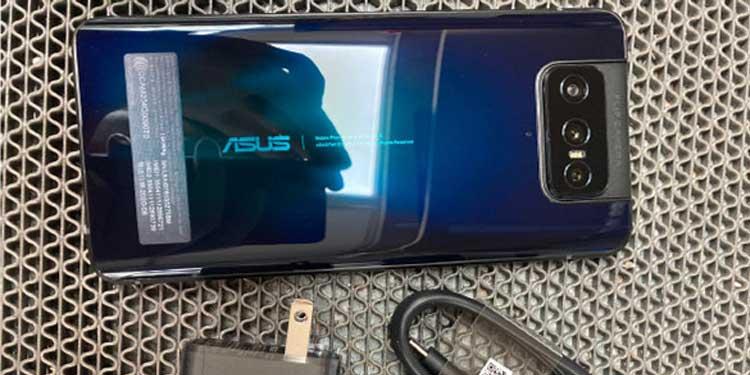 Penampakan Langsung Zenfone 7 Bocor di Internet Jelang Peluncuran