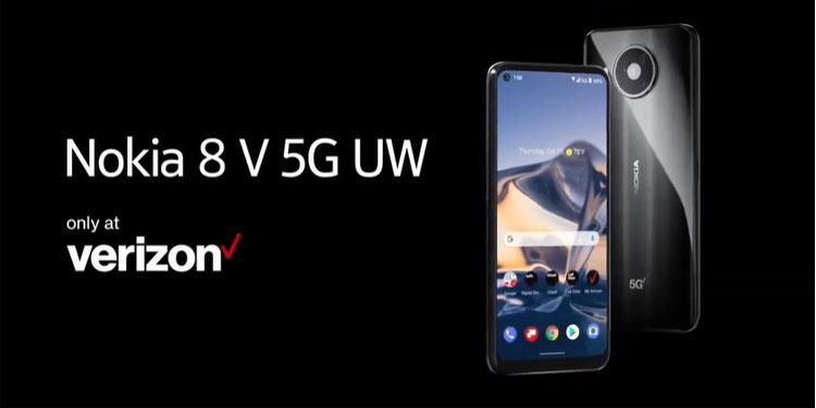 HMD Global Umumkan Ponsel Baru Nokia 8 V 5G UW Khusus Untuk Wilayah AS