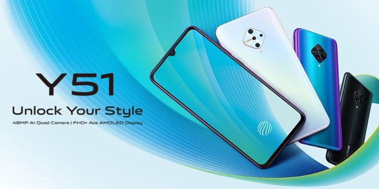Vivo Y51 (2020) Sudah Kantongi Sertifikasi di Indonesia & India